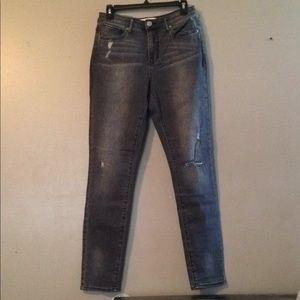 RSQ Manhattan high rise grey jeans